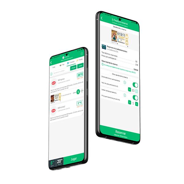 Screens App Empresas