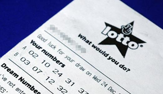 Boleto lotería británica
