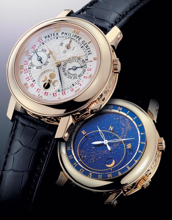 Edición exclusiva del reloj Patek Phillippe