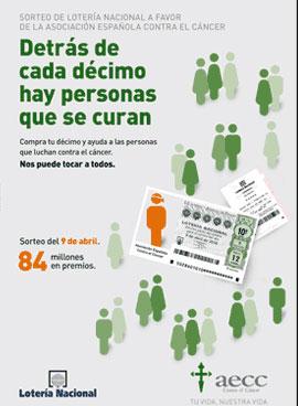 Lotería Nacional contra el cáncer