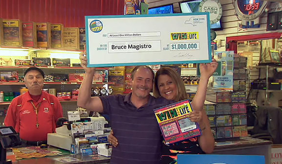 Ganador de loteria por segunda vez