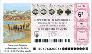 Décimo Lotería Nacional