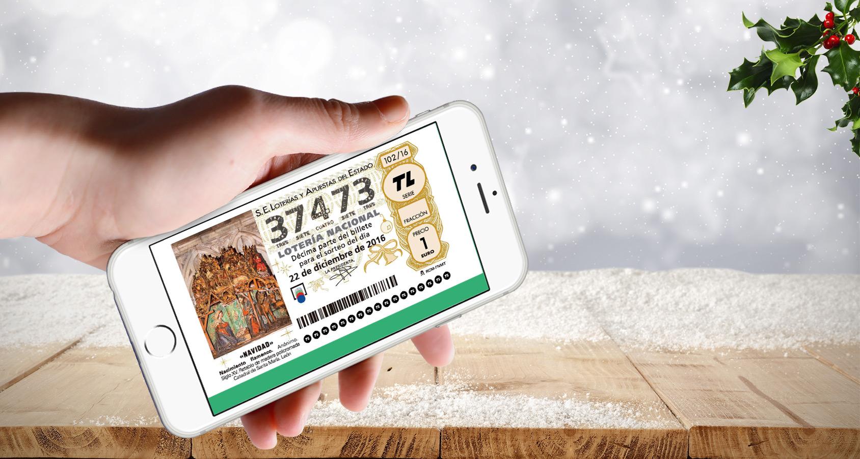 décimo loteria de navidad