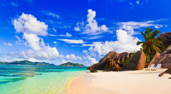 playa de la islas Seychelles