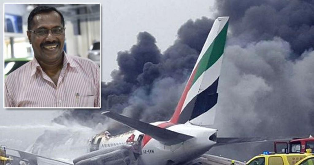 Millonario superviviente del accidente de avión en Dubai