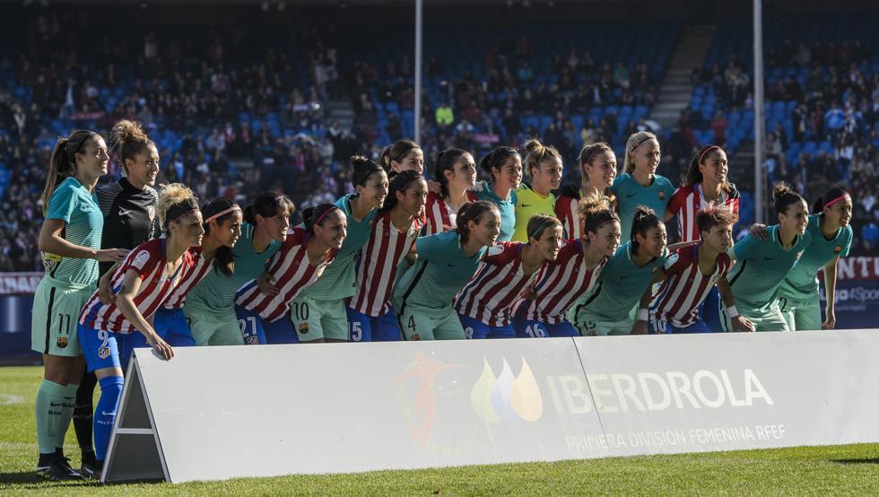 jugadoras liga iberdrola barça-atlético