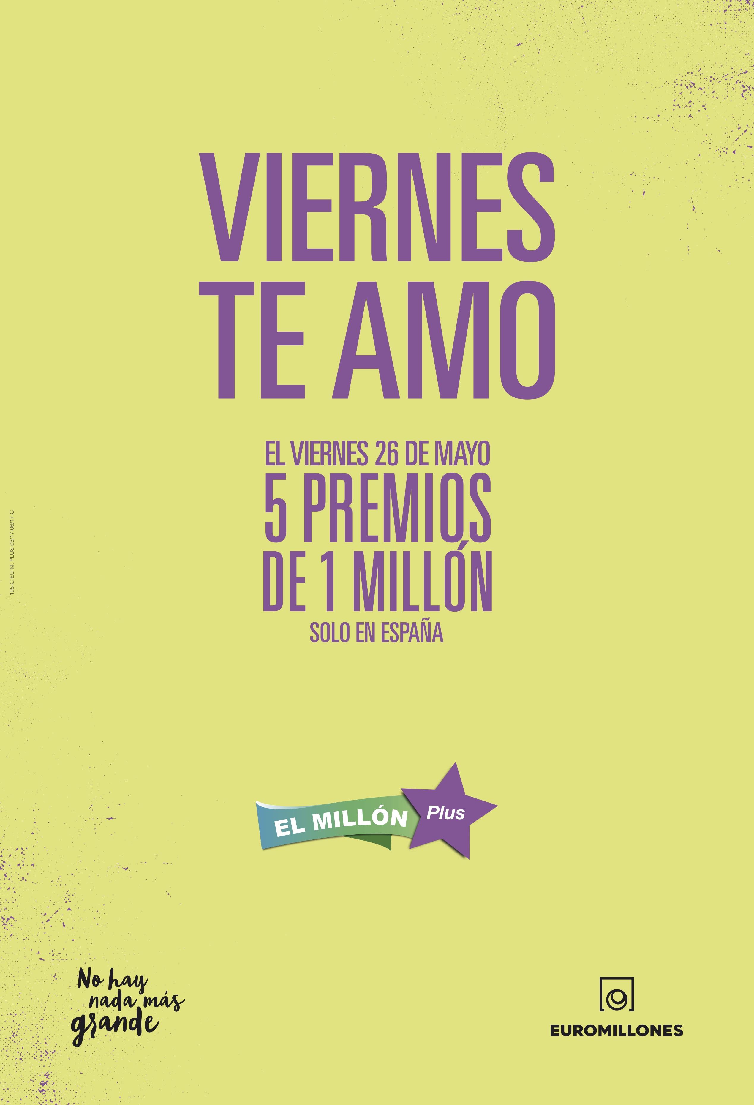 Viernes te amo El Millón Plus