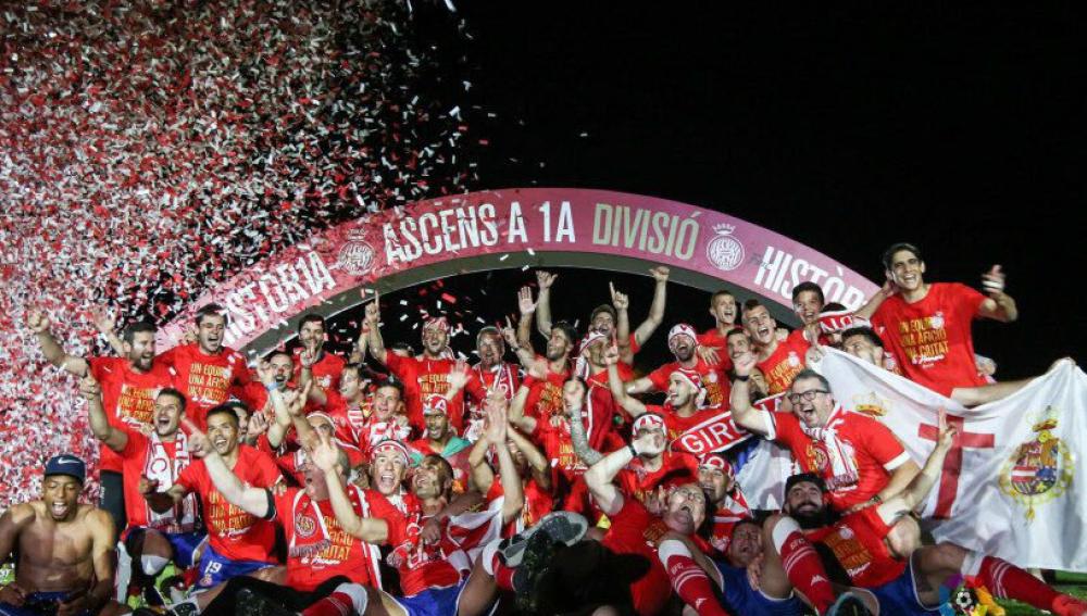 Agotado el 40617, fecha de ascenso Girona