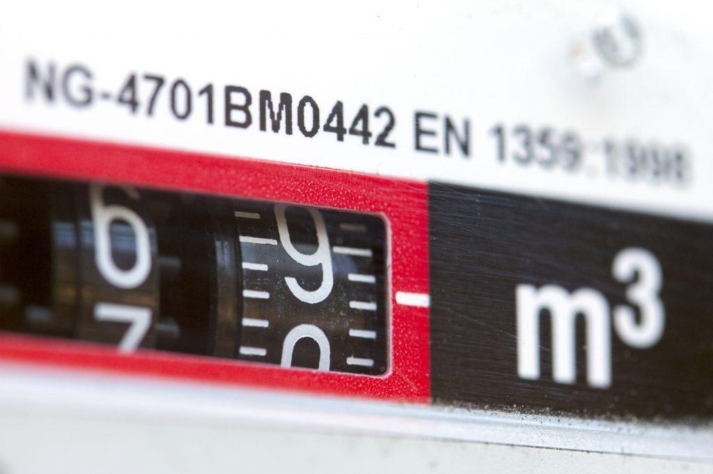 contador de gas para elegir números