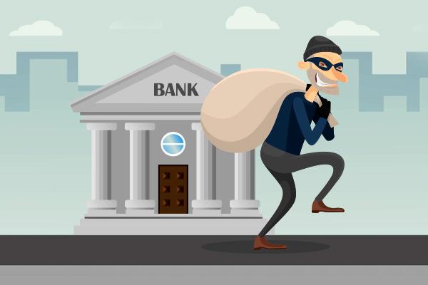 Le toca la lotería y roba bancos