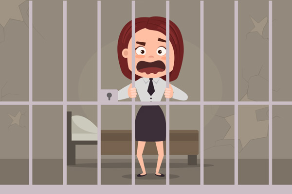 Pena de cárcel por robar un décimo