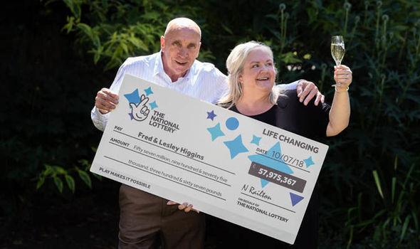 ganadores de la lotería