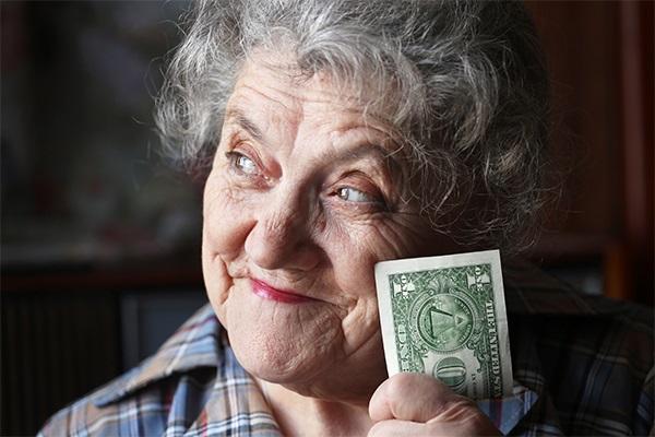 El cobro de un premio de lotería