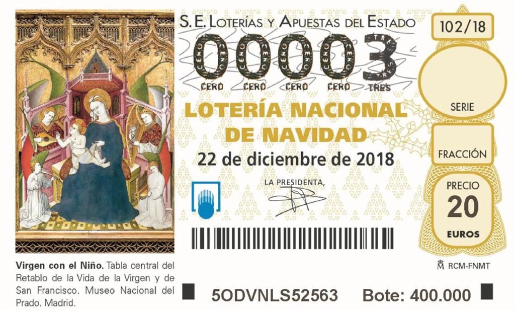 Devolver un boleto de lotería perdido