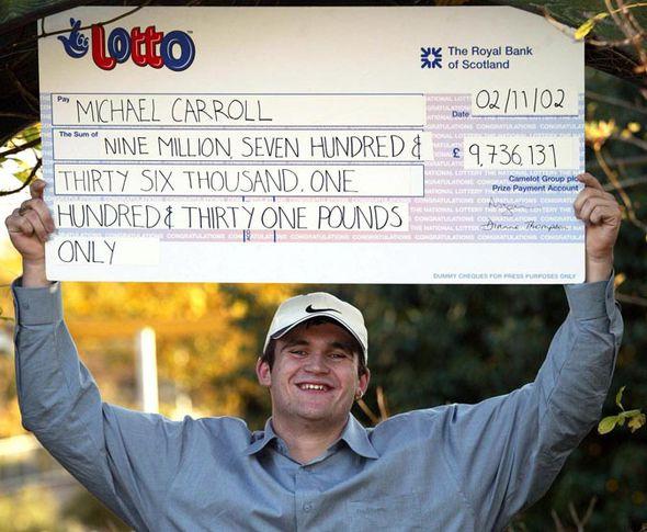 Ganador de premio de la lotería nacional