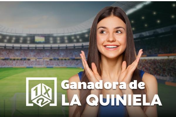 Ganadora de la Quiniela