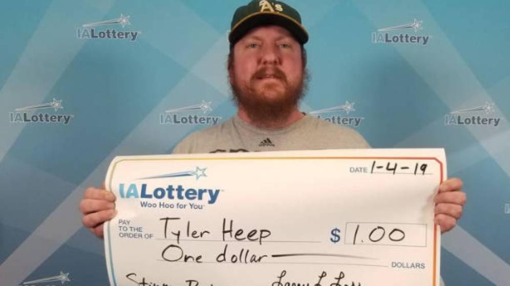 Ganador de 1 dólar en la lotería