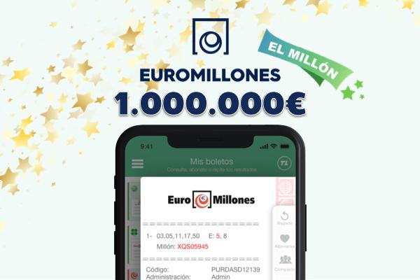 El Millón de Euromillones en TuLotero