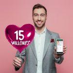 Regala 15 millones en San Valentín