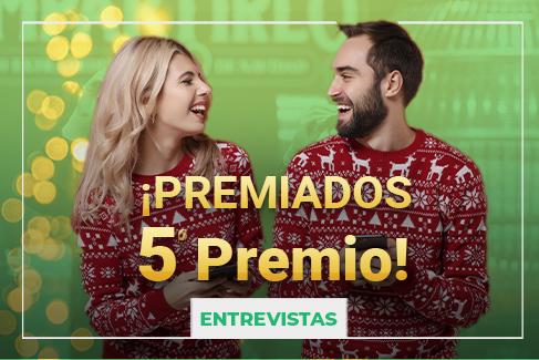 5º premio Lotería de Navidad