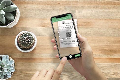 escanear boletos con el código QR